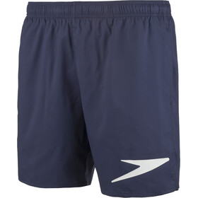 "speedo Sport Solifd 16"" Watershorts Men Navy/White"